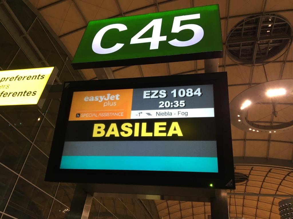 Vuelo desde Alicante a Basilea