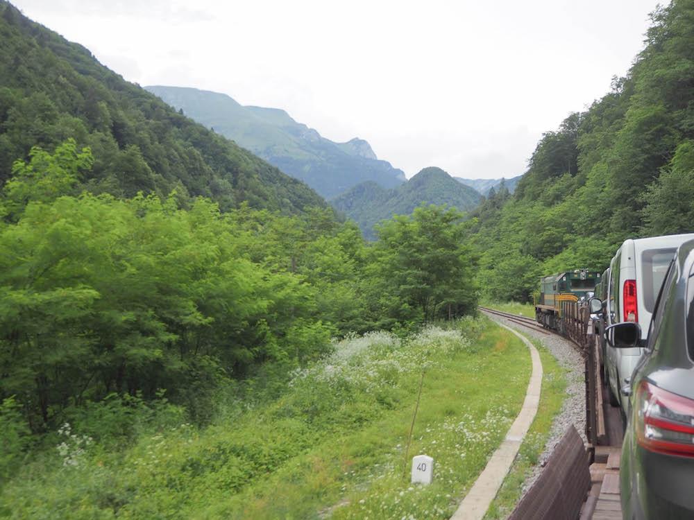 Tren en Eslovenia