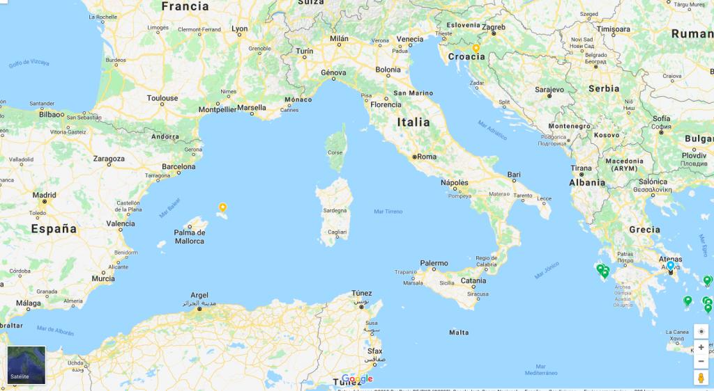 Preparativos de viaje a Roma en seis días
