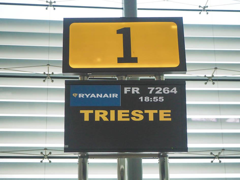 Vuelo a Trieste
