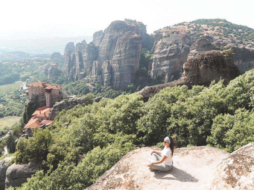 Miradores en Meteora