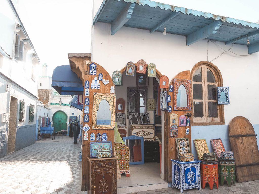 Tiendas en Assilah