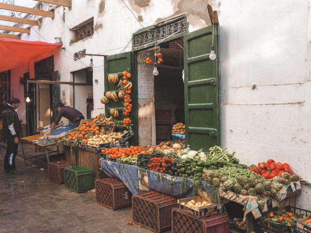 Mercado en Tetuán