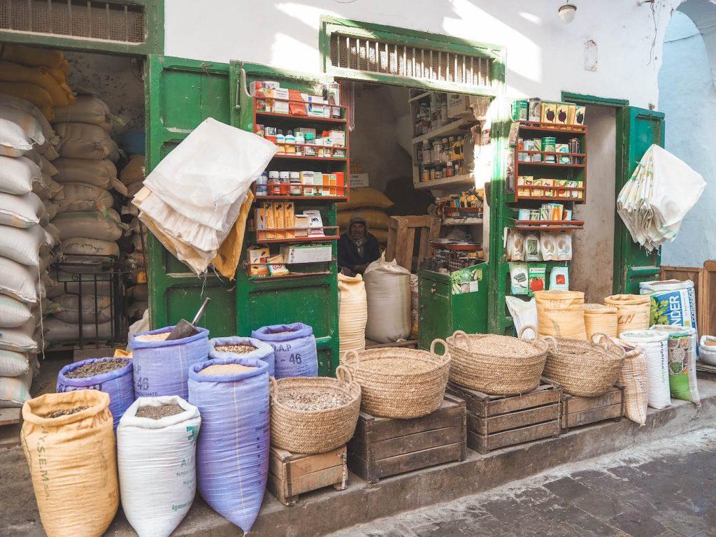 Mercado e Tetuán