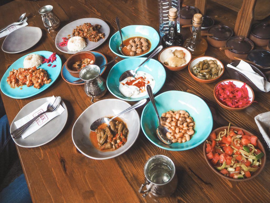 Gastronomía en Turquía