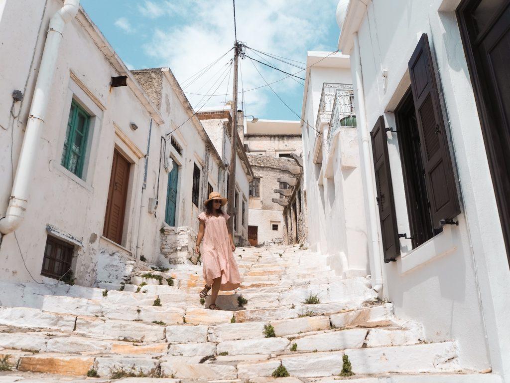 Donde alojarse en Naxos
