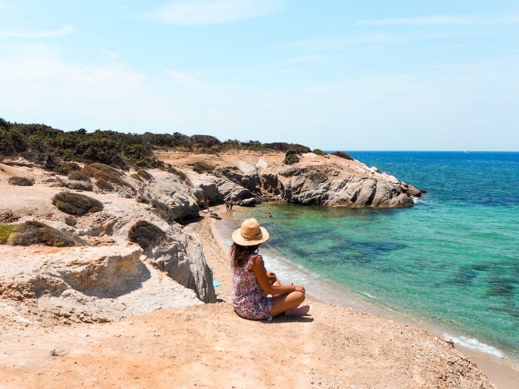Ruta de viaje a Naxos